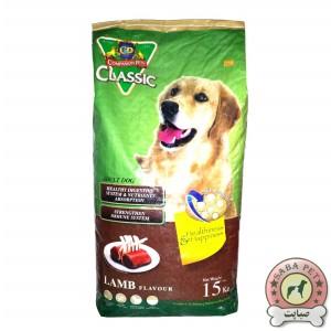غذای کلاسیک سگ