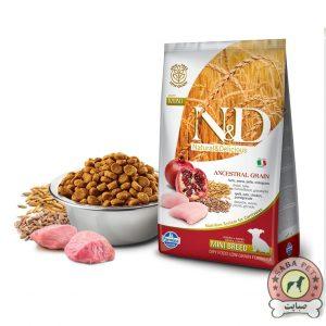 Farmina غذای خشک توله سگ نژاد کوچک حاوی مرغ و انار N&D