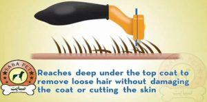 برس ویژه جمع آوری موهای سست مخصوص گربه Furminator