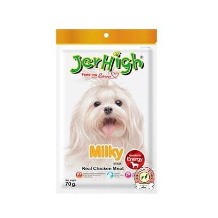 تشویقی مدادی سگ با طعم مرغ شیری 70گرم JerHigh